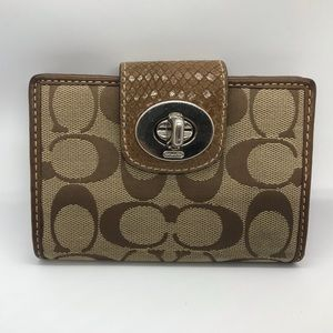 Small cute brown wallet